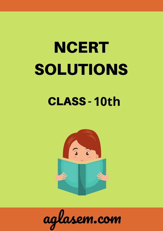 NCERT Solutions for Class 10 हिंदी (स्पर्श - 2) Chapter 6 मधुर मधुर मेरे दीपक जले (Hindi Medium)  - Page 1