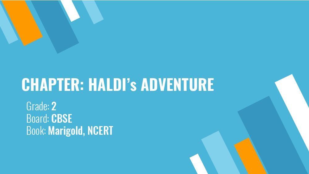 Teaching Material Class 2 English Haldis Adventure - Page 1
