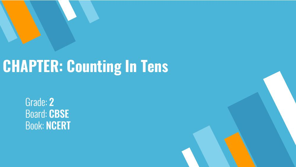 Teaching Material Class 2 Maths Counting in Tens - Page 1