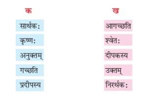 NCERT Solutions for Class 6 Sanskrit Chapter 8